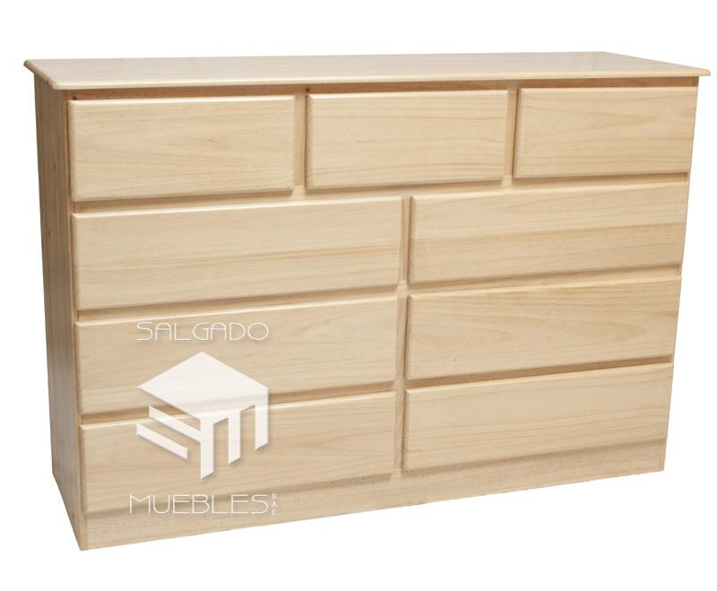 Cajonera mt x 95 cm x 45 cm x 9 cajones todo madera - Cajonera de madera ...