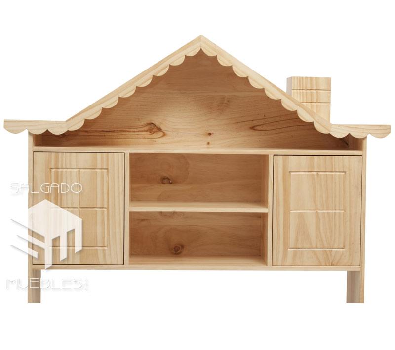 Cabecera casita 1 5 plz respaldar madera - Cabeceras de cama de madera ...