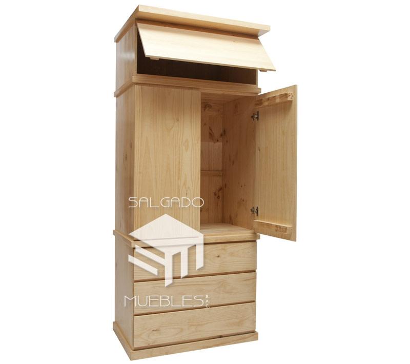 Roperos for Roperos de madera para dormitorios